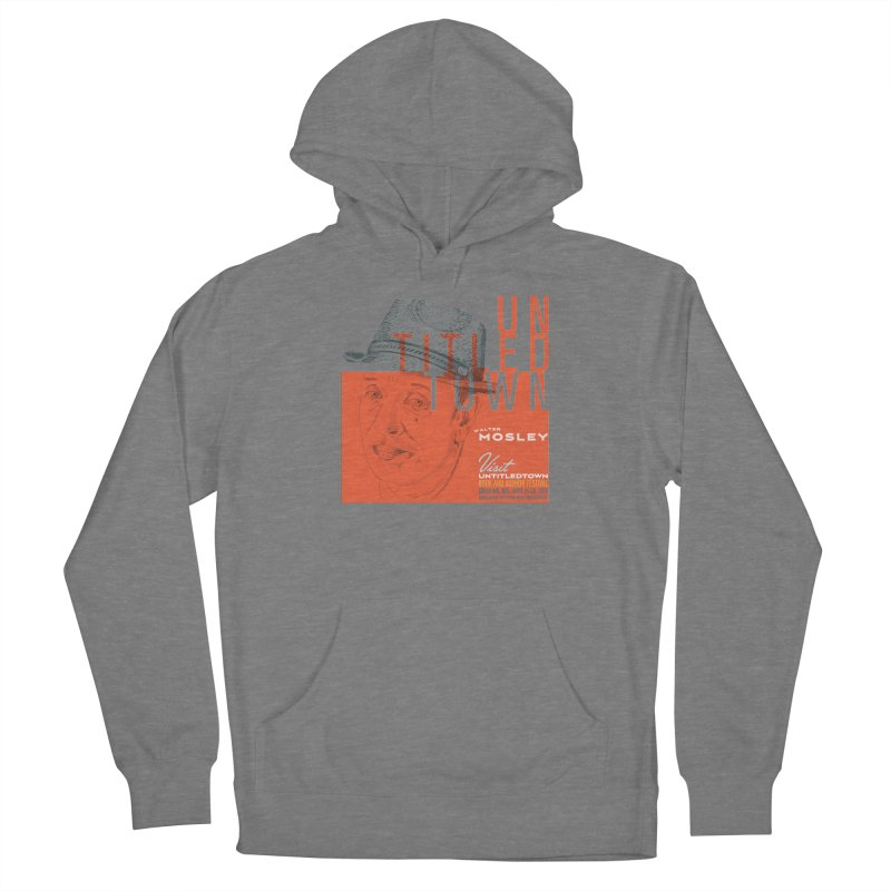 Walter Mosley at UntitledTown Men's Pullover Hoody by UntitledTown Store