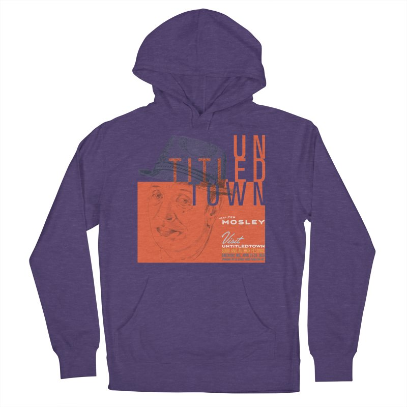 Walter Mosley at UntitledTown Men's French Terry Pullover Hoody by UntitledTown Store