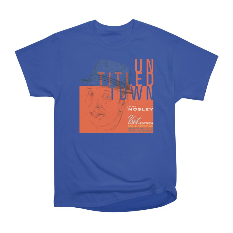 Walter Mosley at UntitledTown Men's Heavyweight T-Shirt by UntitledTown Store