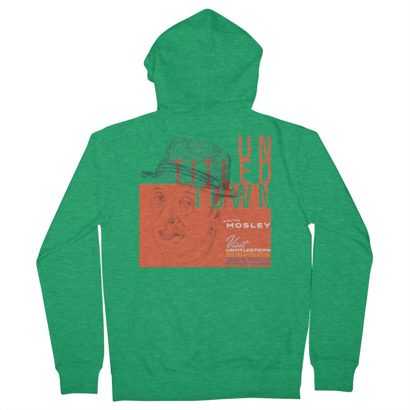 Walter Mosley at UntitledTown Women's Zip-Up Hoody by UntitledTown Store