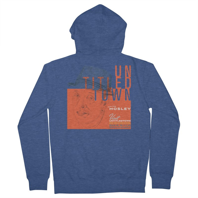 Walter Mosley at UntitledTown Women's French Terry Zip-Up Hoody by UntitledTown Store