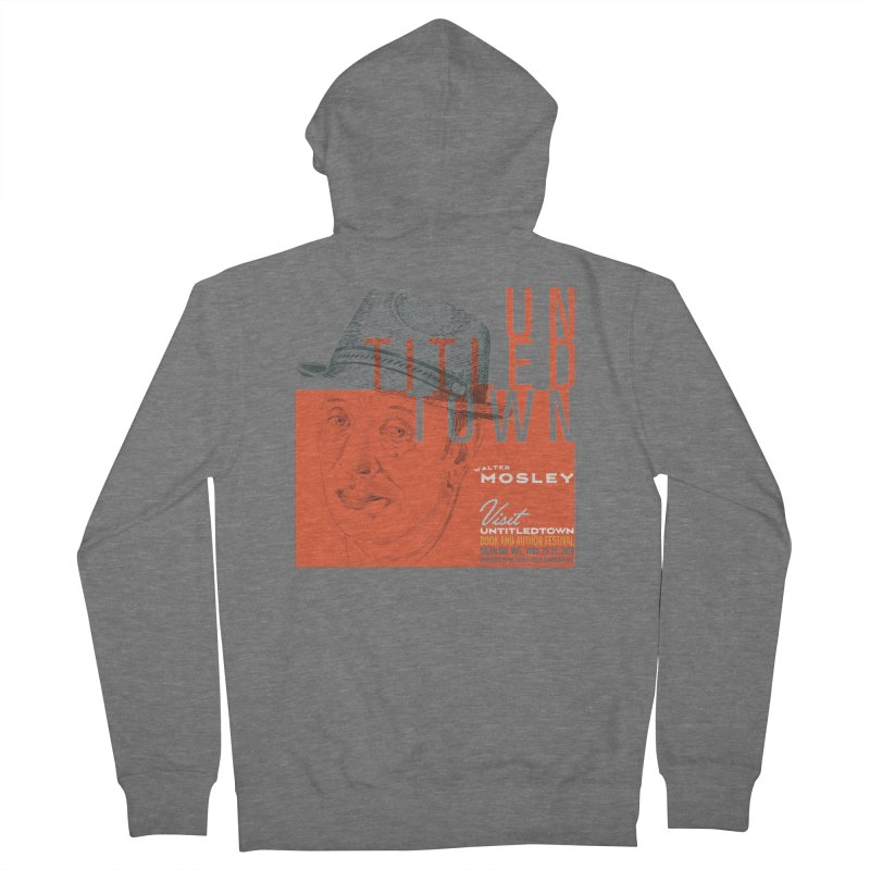 Walter Mosley at UntitledTown Men's French Terry Zip-Up Hoody by UntitledTown Store