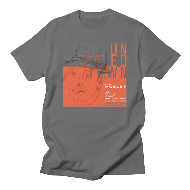 Walter Mosley at UntitledTown Men's T-Shirt by UntitledTown Store
