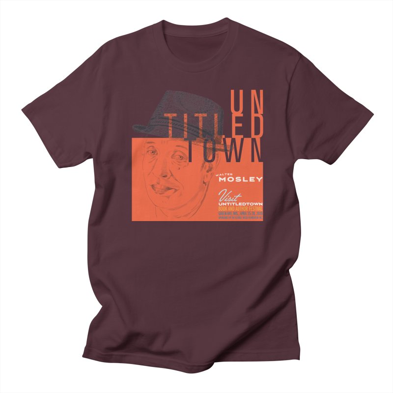 Walter Mosley at UntitledTown Men's Regular T-Shirt by UntitledTown Store