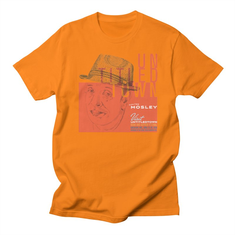 Walter Mosley at UntitledTown Women's Regular Unisex T-Shirt by UntitledTown Store