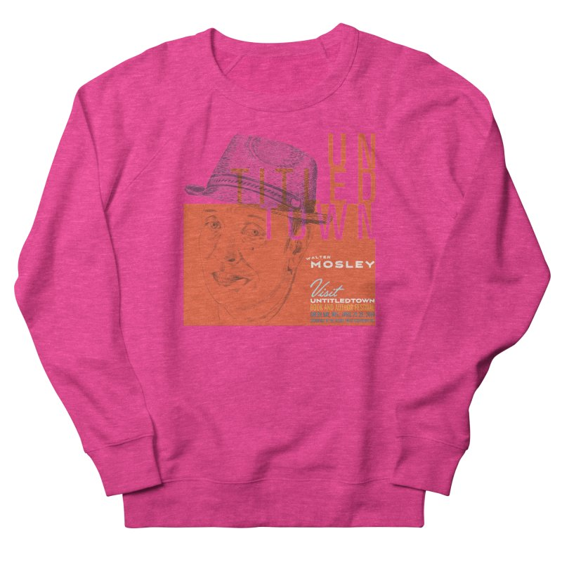 Walter Mosley at UntitledTown Men's French Terry Sweatshirt by UntitledTown Store