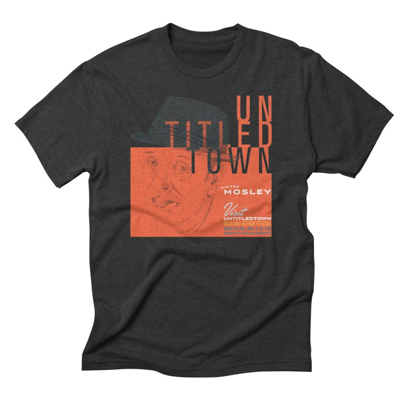 Walter Mosley at UntitledTown Men's Triblend T-Shirt by UntitledTown Store