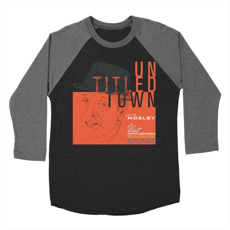 Walter Mosley at UntitledTown Women's Baseball Triblend Longsleeve T-Shirt by UntitledTown Store