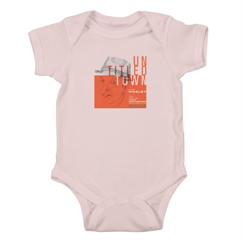 Walter Mosley at UntitledTown Kids Baby Bodysuit by UntitledTown Store