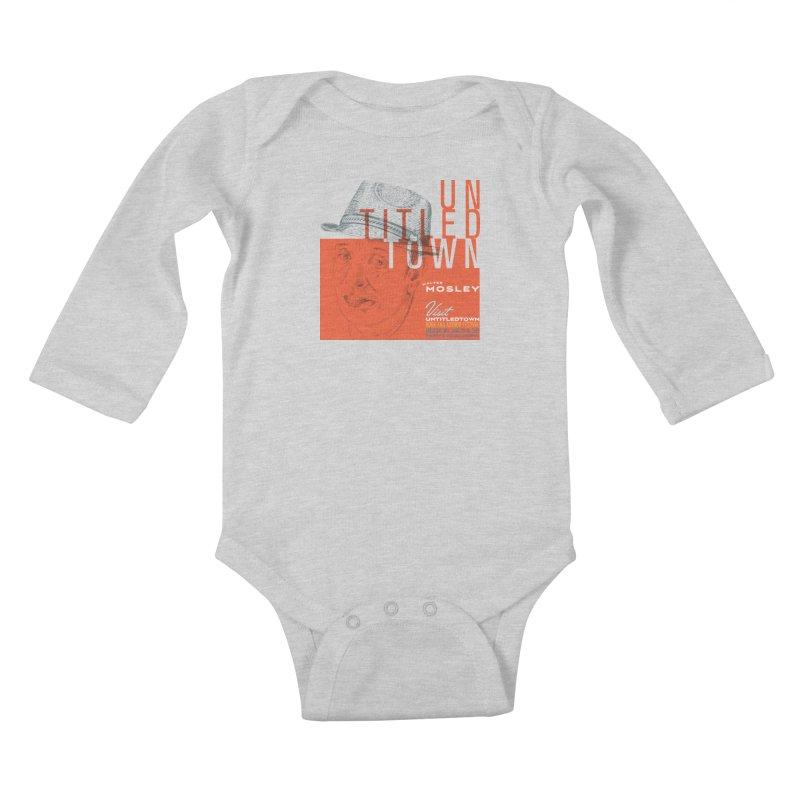 Walter Mosley at UntitledTown Kids Baby Longsleeve Bodysuit by UntitledTown Store