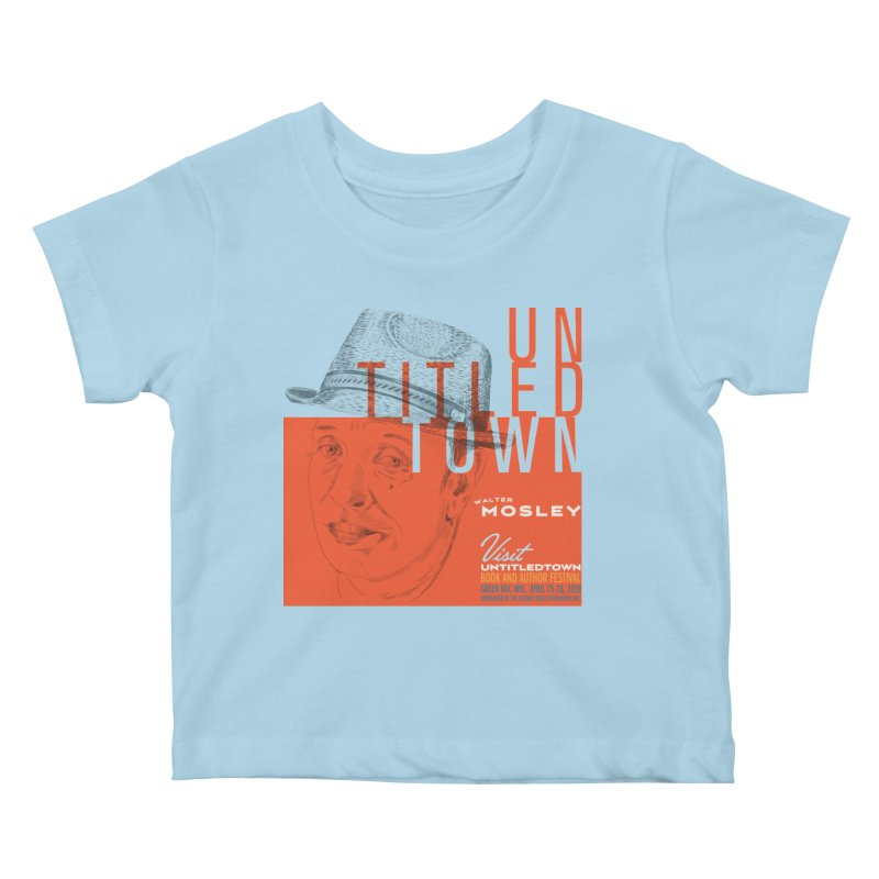 Walter Mosley at UntitledTown Kids Baby T-Shirt by UntitledTown Store