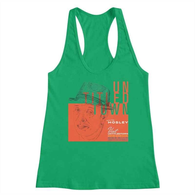 Walter Mosley at UntitledTown Women's Tank by UntitledTown Store
