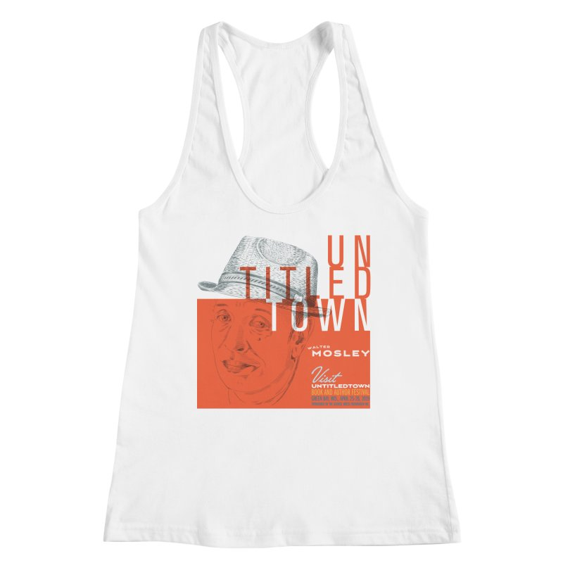 Walter Mosley at UntitledTown Women's Racerback Tank by UntitledTown Store