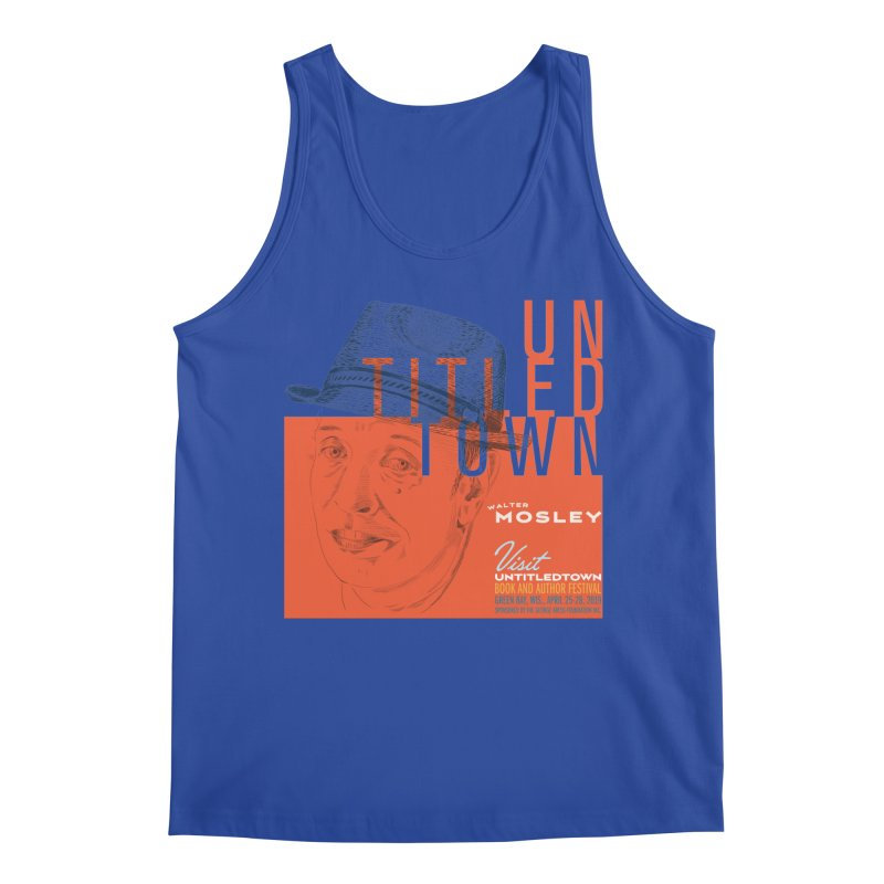 Walter Mosley at UntitledTown Men's Tank by UntitledTown Store