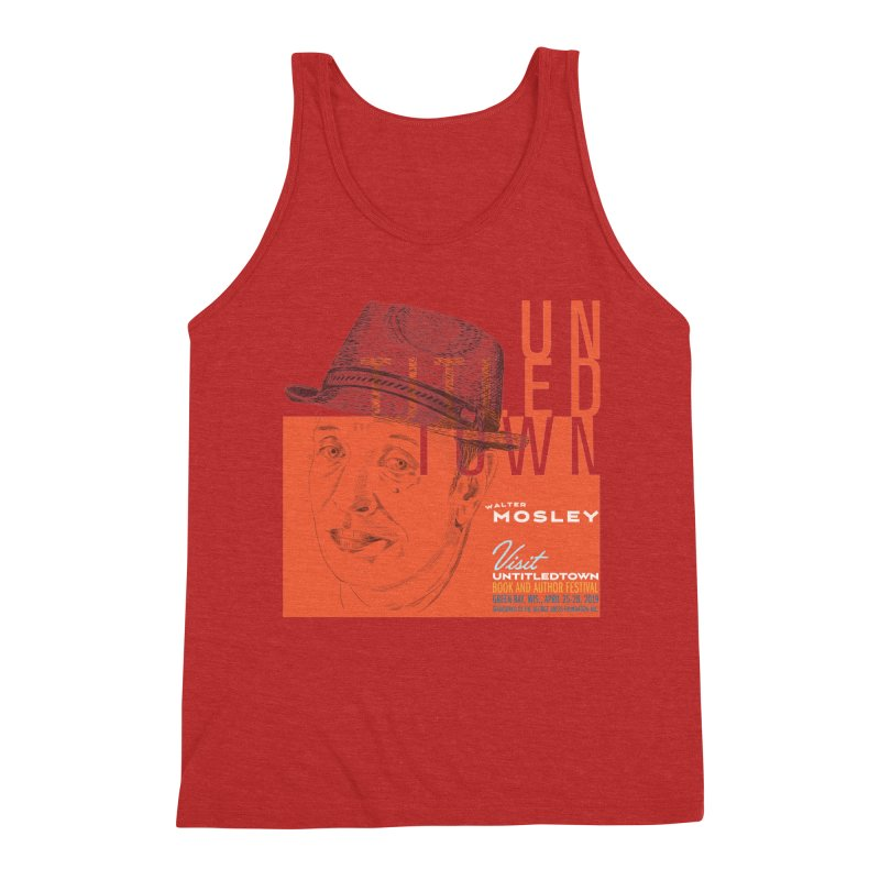 Walter Mosley at UntitledTown Men's Triblend Tank by UntitledTown Store