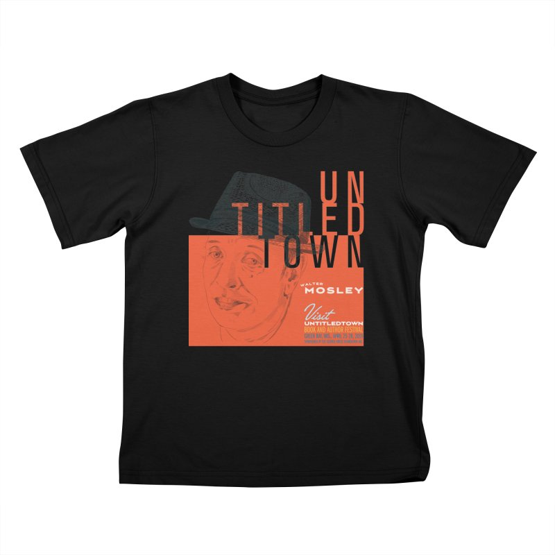 Walter Mosley at UntitledTown Kids T-Shirt by UntitledTown Store