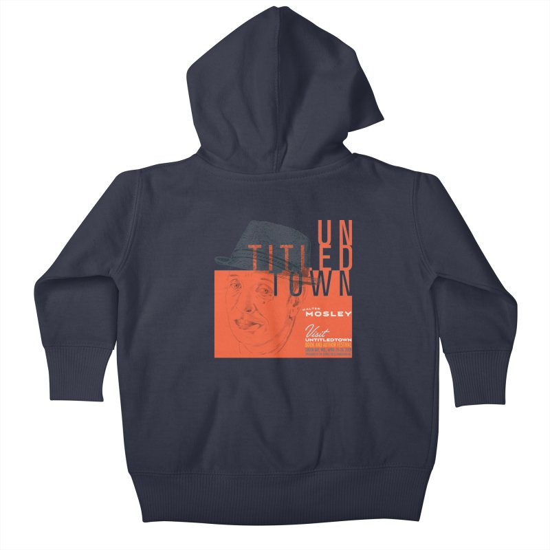 Walter Mosley at UntitledTown Kids Baby Zip-Up Hoody by UntitledTown Store