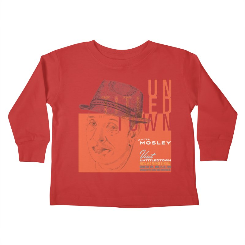 Walter Mosley at UntitledTown Kids Toddler Longsleeve T-Shirt by UntitledTown Store