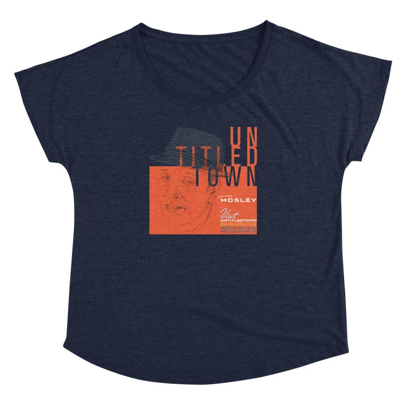 Walter Mosley at UntitledTown Women's Dolman Scoop Neck by UntitledTown Store
