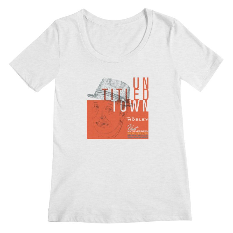 Walter Mosley at UntitledTown Women's Regular Scoop Neck by UntitledTown Store