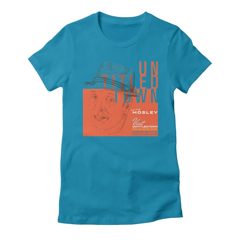 Walter Mosley at UntitledTown Women's Fitted T-Shirt by UntitledTown Store