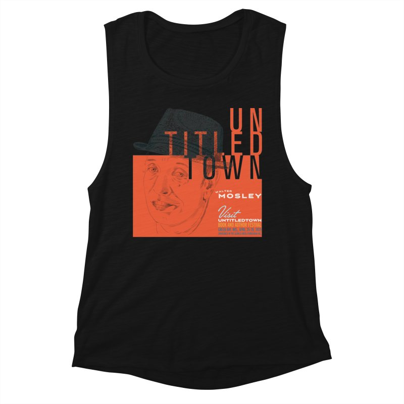 Walter Mosley at UntitledTown Women's Muscle Tank by UntitledTown Store