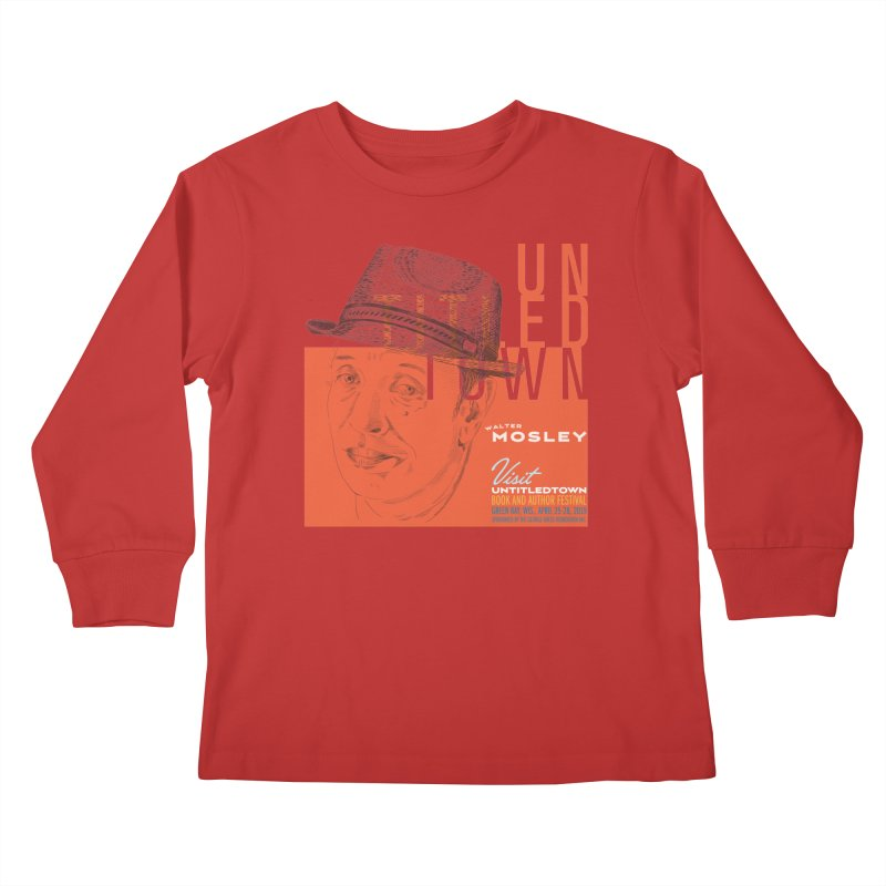 Walter Mosley at UntitledTown Kids Longsleeve T-Shirt by UntitledTown Store