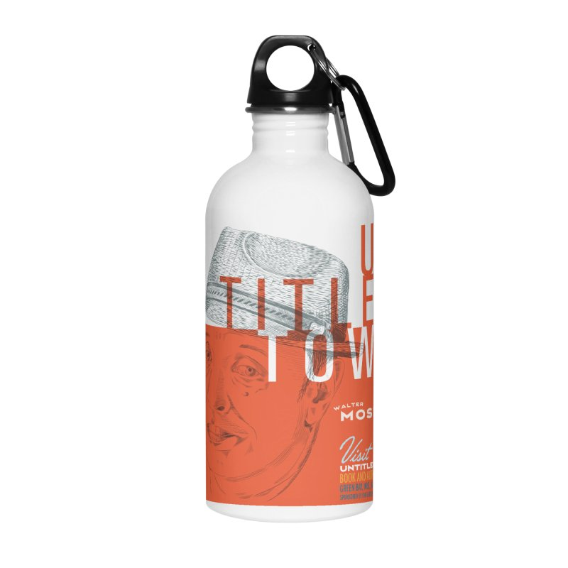 Walter Mosley at UntitledTown Accessories Water Bottle by UntitledTown Store