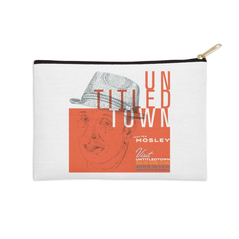 Walter Mosley at UntitledTown Accessories Zip Pouch by UntitledTown Store