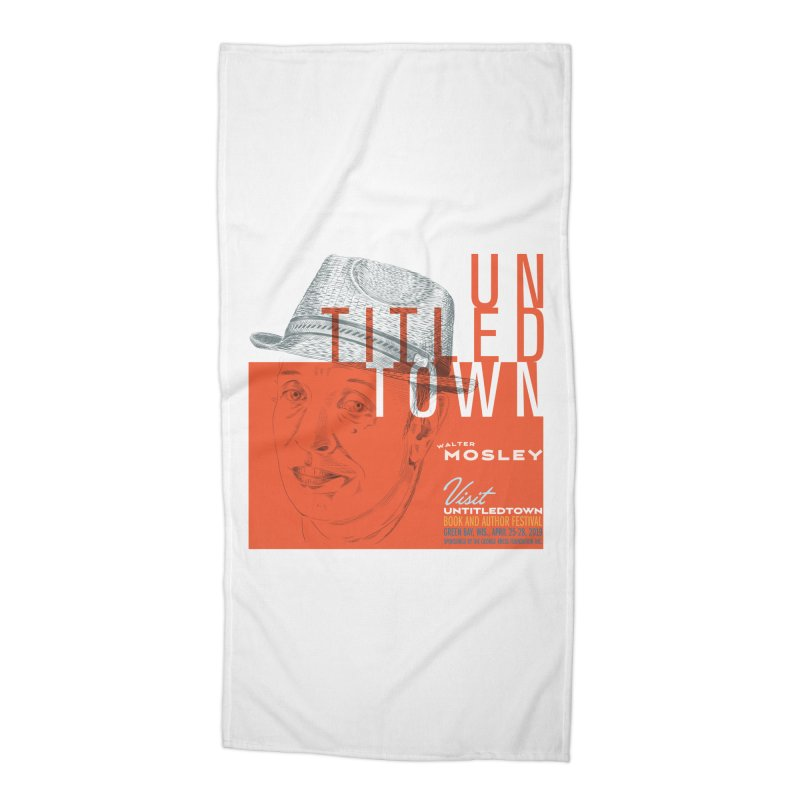 Walter Mosley at UntitledTown Accessories Beach Towel by UntitledTown Store