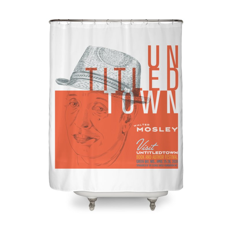 Walter Mosley at UntitledTown Home Shower Curtain by UntitledTown Store