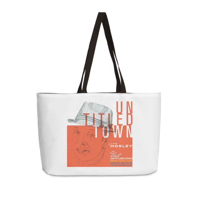 Walter Mosley at UntitledTown Accessories Bag by UntitledTown Store