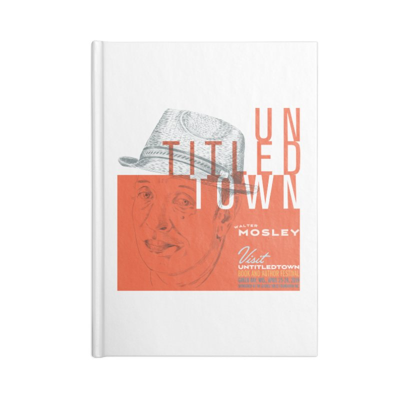 Walter Mosley at UntitledTown Accessories Blank Journal Notebook by UntitledTown Store