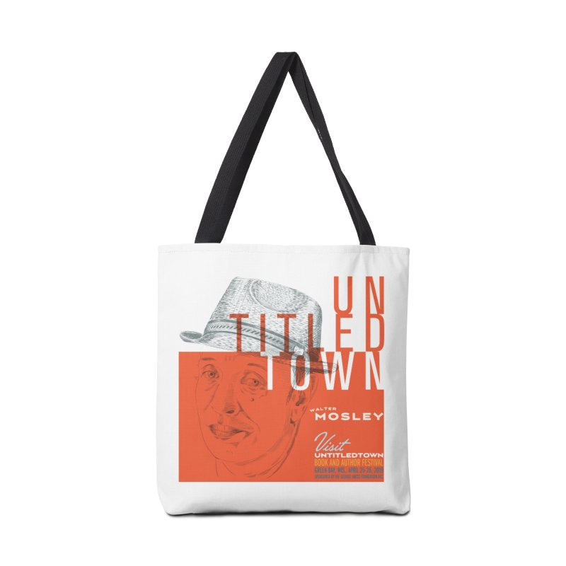 Walter Mosley at UntitledTown Accessories Tote Bag Bag by UntitledTown Store
