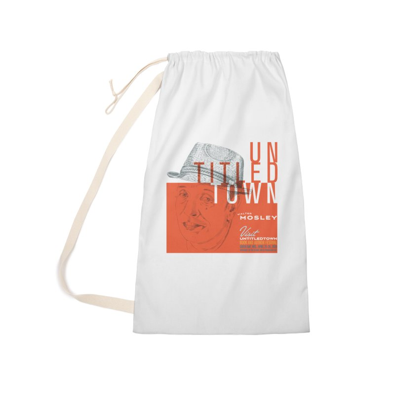 Walter Mosley at UntitledTown Accessories Laundry Bag Bag by UntitledTown Store