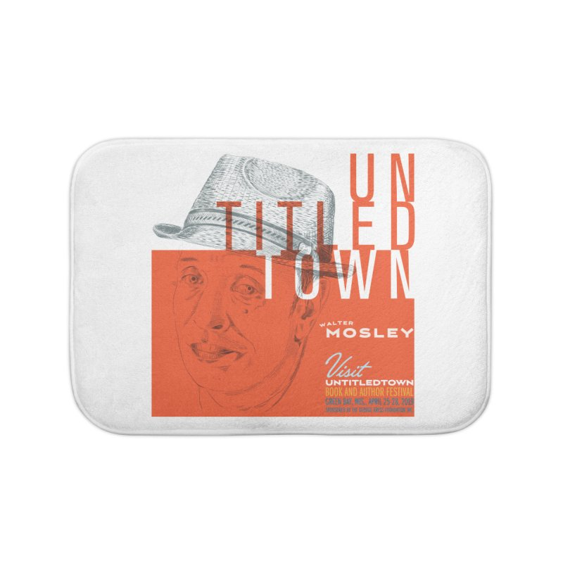 Walter Mosley at UntitledTown Home Bath Mat by UntitledTown Store