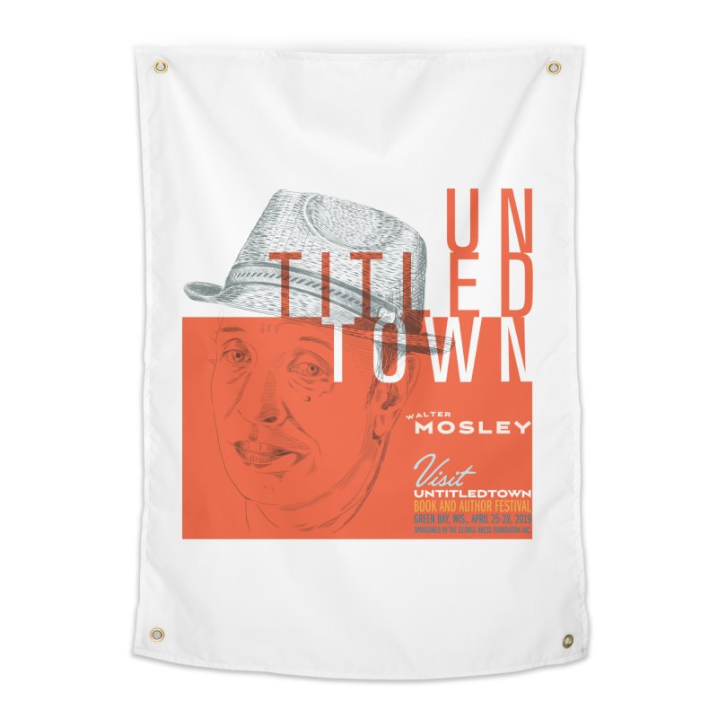 Walter Mosley at UntitledTown Home Tapestry by UntitledTown Store