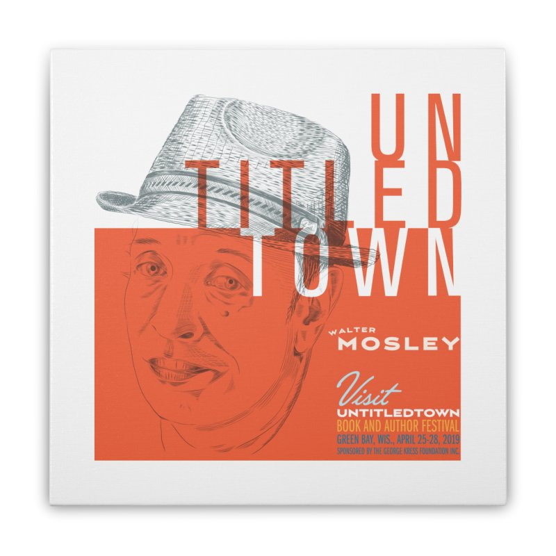 Walter Mosley at UntitledTown Home Stretched Canvas by UntitledTown Store