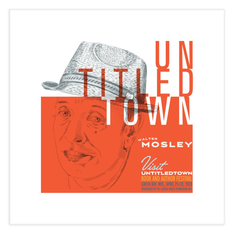 Walter Mosley at UntitledTown Home Fine Art Print by UntitledTown Store