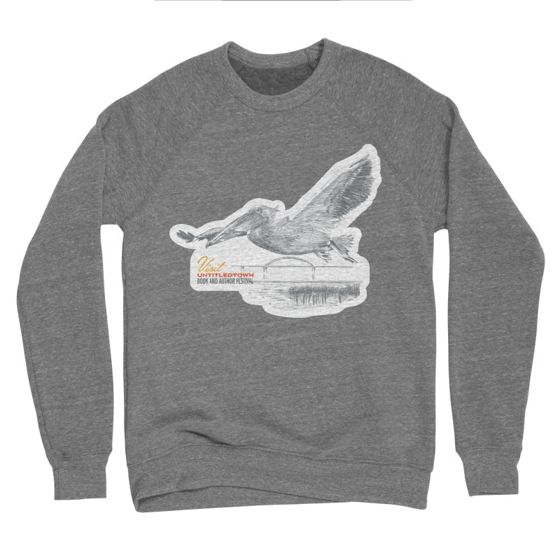 The Pelican Men's Sponge Fleece Sweatshirt by UntitledTown Store