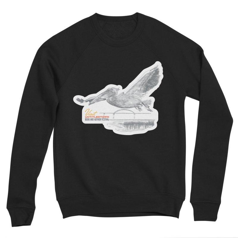The Pelican Men's Sponge Fleece Sweatshirt by UntitledTown Store