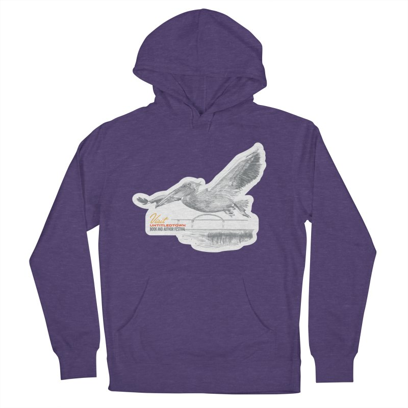 The Pelican Men's French Terry Pullover Hoody by UntitledTown Store