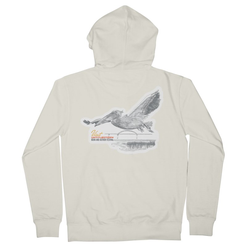 The Pelican Men's French Terry Zip-Up Hoody by UntitledTown Store