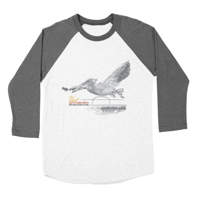 The Pelican Women's Baseball Triblend Longsleeve T-Shirt by UntitledTown Store