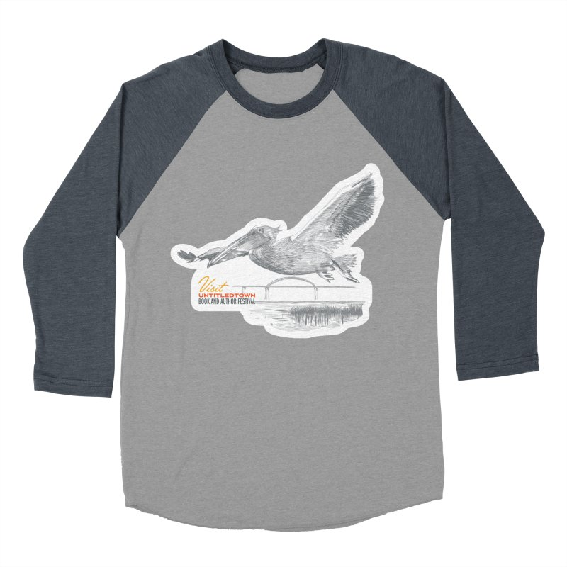 The Pelican Men's Baseball Triblend Longsleeve T-Shirt by UntitledTown Store