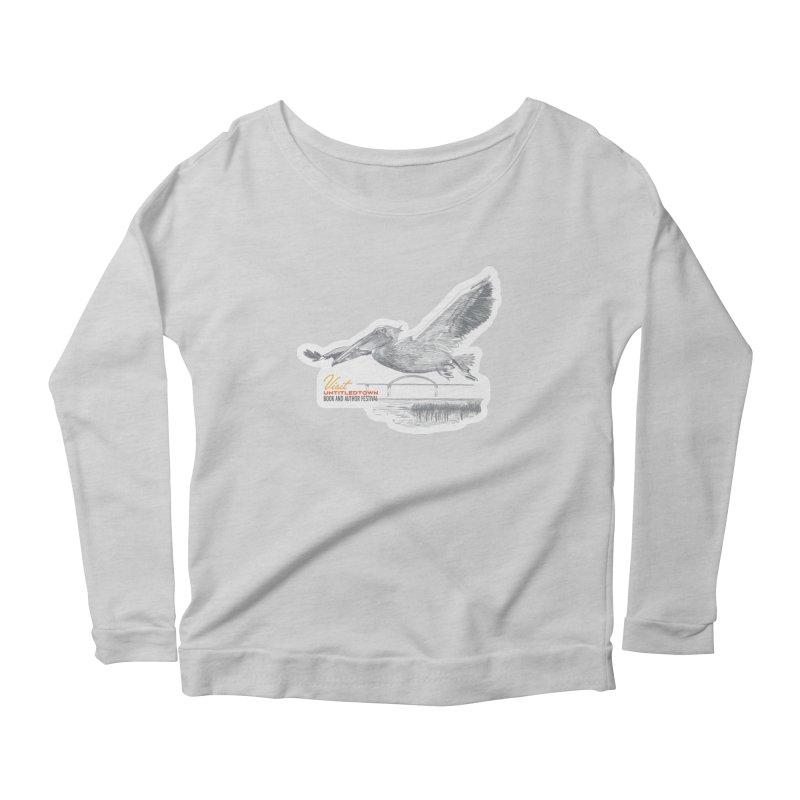 The Pelican Women's Scoop Neck Longsleeve T-Shirt by UntitledTown Store