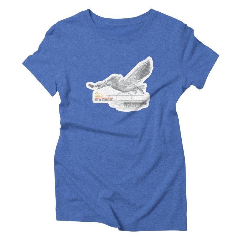 The Pelican Women's Triblend T-Shirt by UntitledTown Store