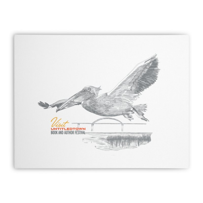 The Pelican Home Stretched Canvas by UntitledTown Store
