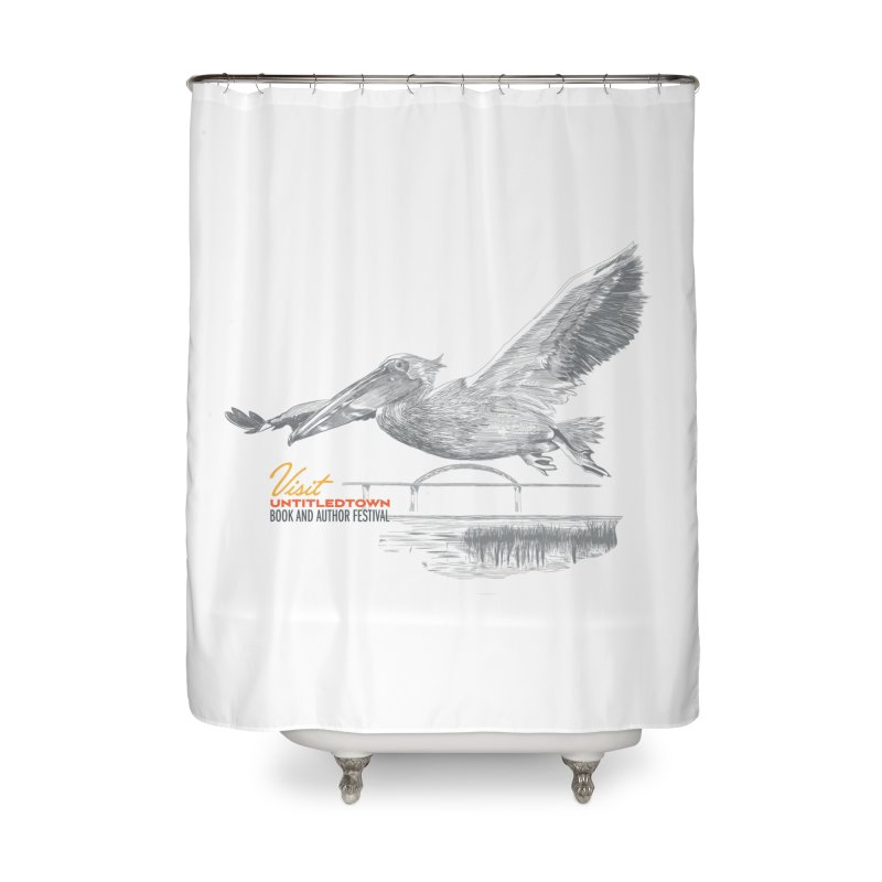 The Pelican Home Shower Curtain by UntitledTown Store