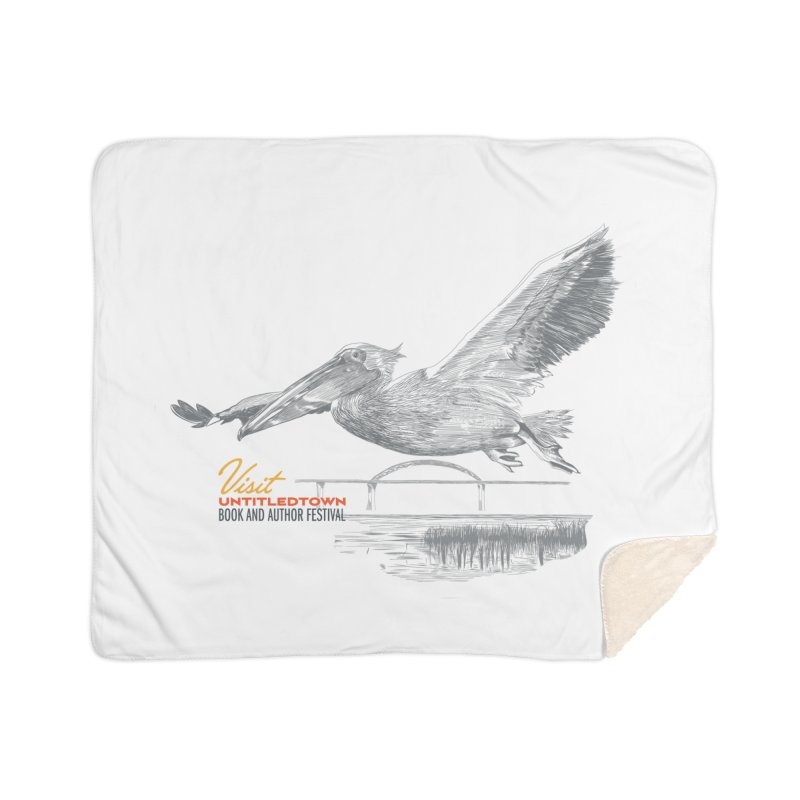 The Pelican Home Sherpa Blanket Blanket by UntitledTown Store